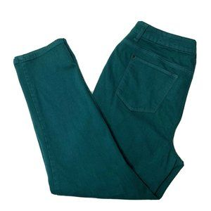 Chicos So Slimming Girlfriend Ankle Pants 2 Teal
